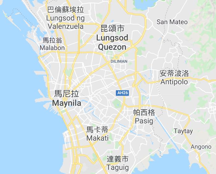 馬尼拉地圖